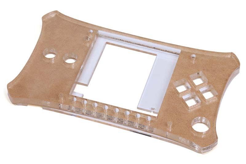 Meggyのケースもレーザーカッターで製作されています