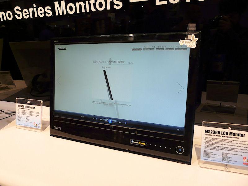 21.5型、MS228H。2ms、250cd/平方m、1千万:1、160/170度、HDMI、ミニD-Sub15ピン