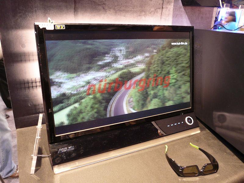 PG276H。27型、2ms、400cd/平方m、20,000:1、160/170度、HDMI、DVI(120Hz対応)、ミニD-Sub15ピン、コンポーネント、3D Vision対応