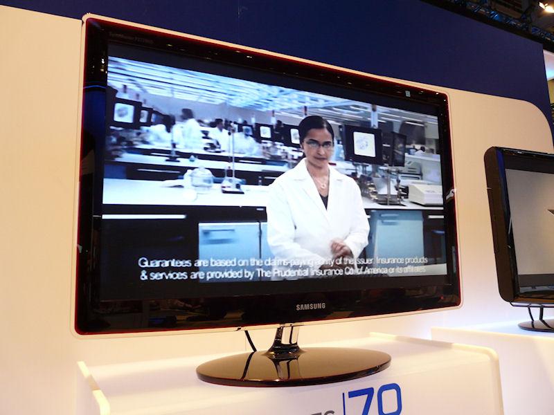 P2770HD。27型、5ms、300cd/平方m、50,000:1、160/170度、HDMI、DVI、ミニD-Sub15ピン、コンポーネント、デジタルTVチューナ、スピーカー
