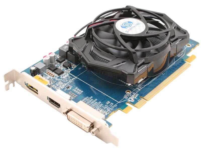 SAPPHIRE HD5670 512M GDDR5 PCI-E HDMI/DVI-I/DP