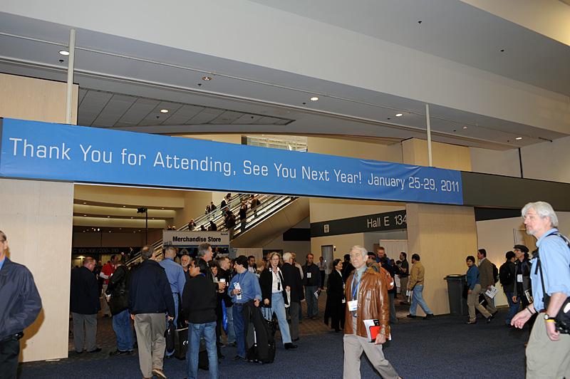 2011年の開催日程もアナウンスされた。来年は1月22日から25日の予定になっている