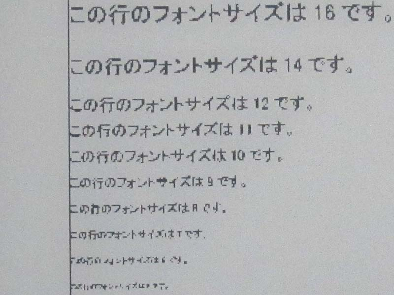 ScanSnapで白黒モード/600dpiで取り込んだPDFをさまざまな電子ペーパー端末で表示したところ。左から順に、Kindle DX、Kindle、本製品