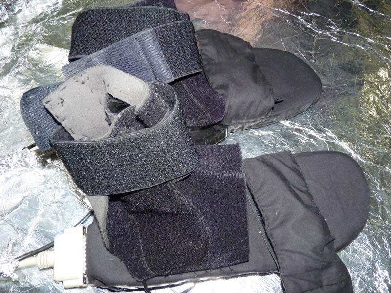 履いて使うハプティックデバイス「River Boots」