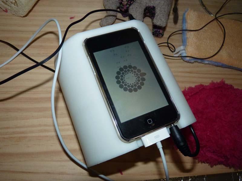 iPod touchを使った五感拡張デバイス