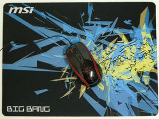 B賞のマウスパッド(マウスは付属しません)