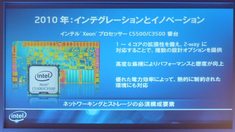 Xeon C5500/C3500の概要