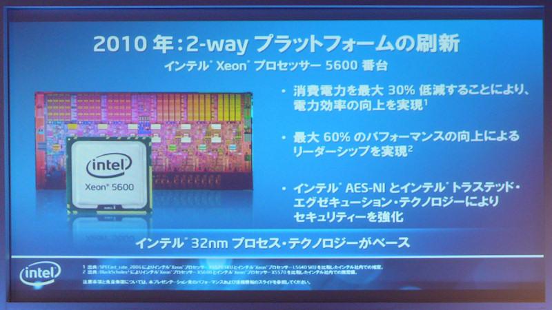 Xeon 5600の概要