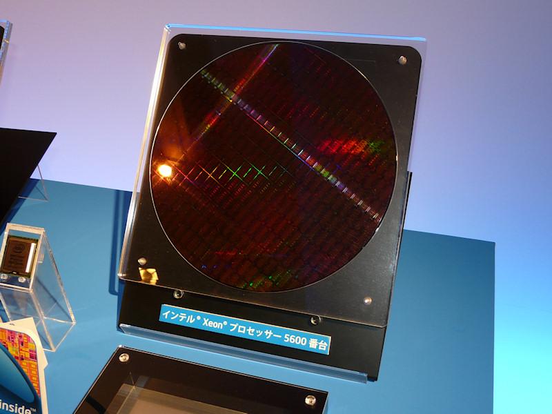 Xeon 5600のウェハ
