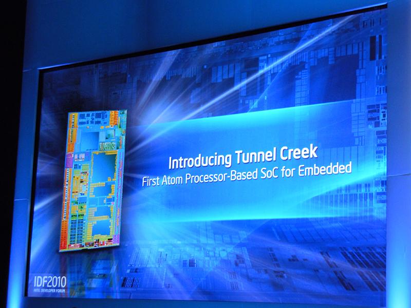 AtomプロセッサをベースにしたSoCのTunnelCreek