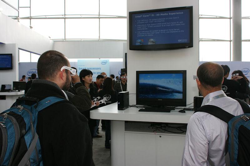 Intel HD Graphicsを利用した3D立体視の再生デモ
