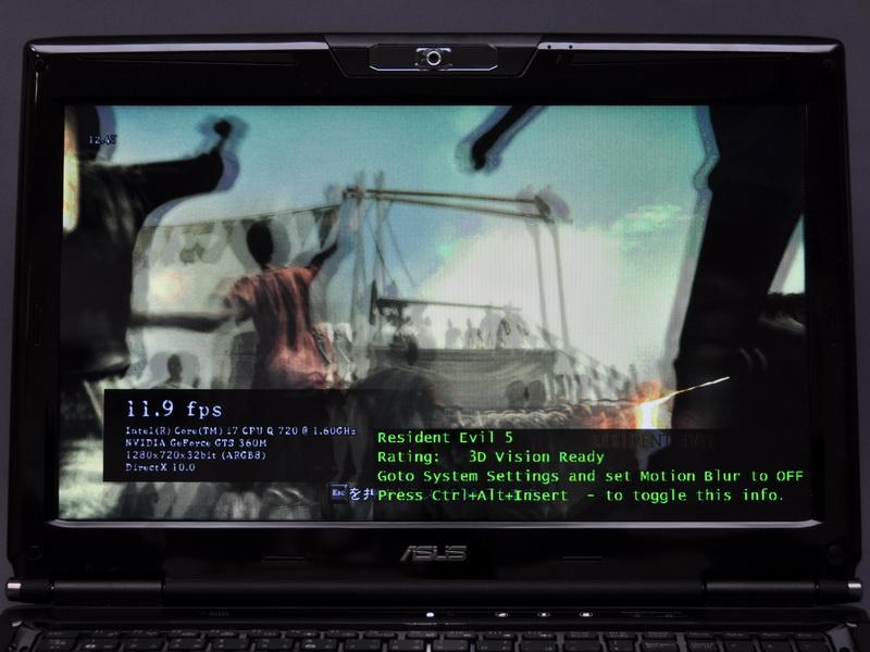 対応3Dゲームなどは、特に設定を行なうことなく、起動するだけで3D表示となる
