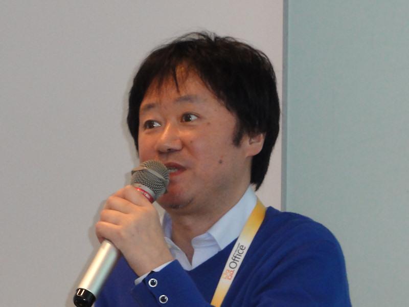 マイクロソフトの飯島圭一氏