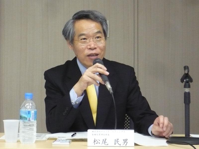 メルコホールディングス 取締役管理本部長 松尾民男氏