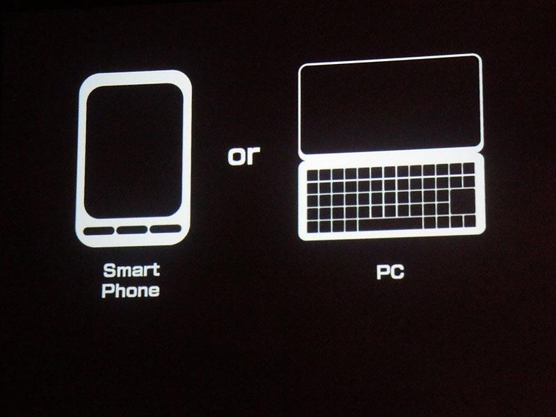 PCとスマートフォンの使い分け