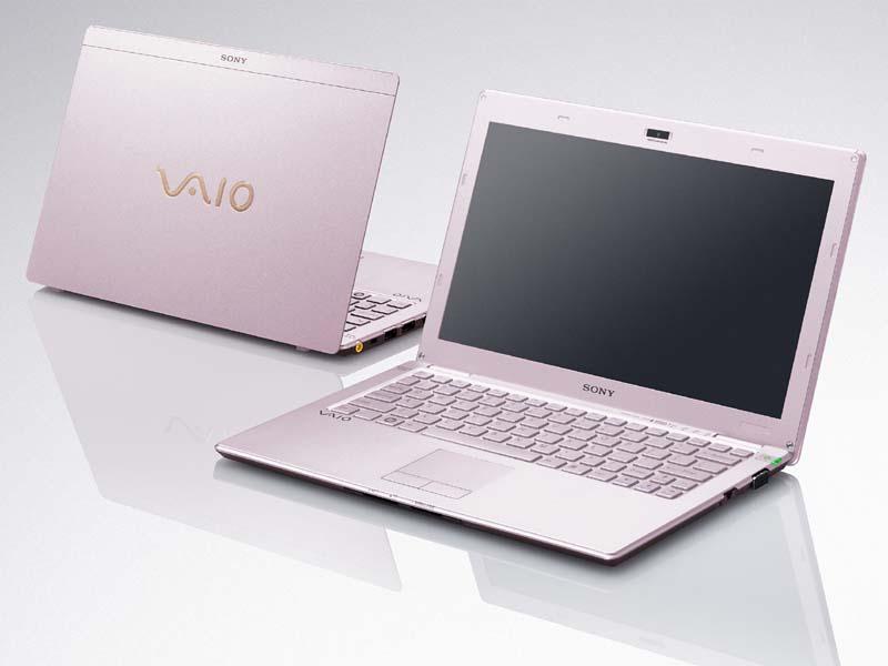 VAIO Xの新色ピンク