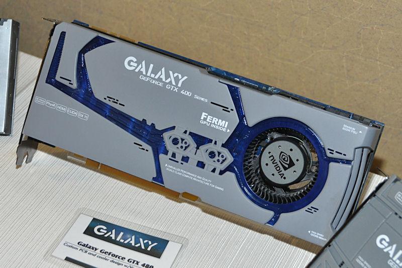 ベイパーチャンバー方式のヒートシンクを搭載することで冷却能力を高めた、GeForce GTX 480搭載製品