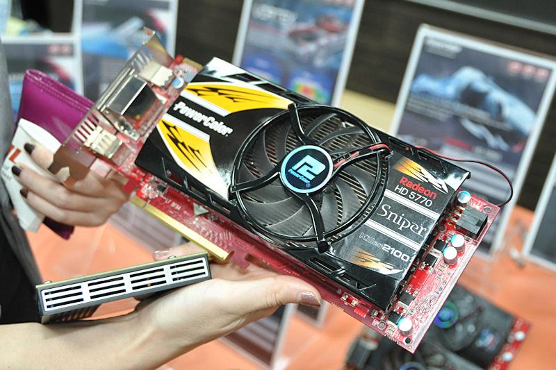 Radeon HD 5770にKiller 2100相当のネットワーク機能を統合した「Sniper」