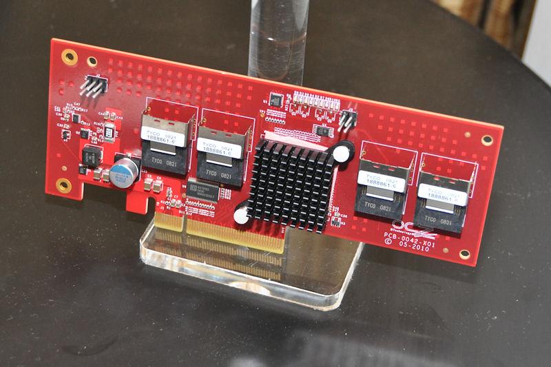 4ポートのコントローラボードも検討。こちらはRAID構築も可能になる