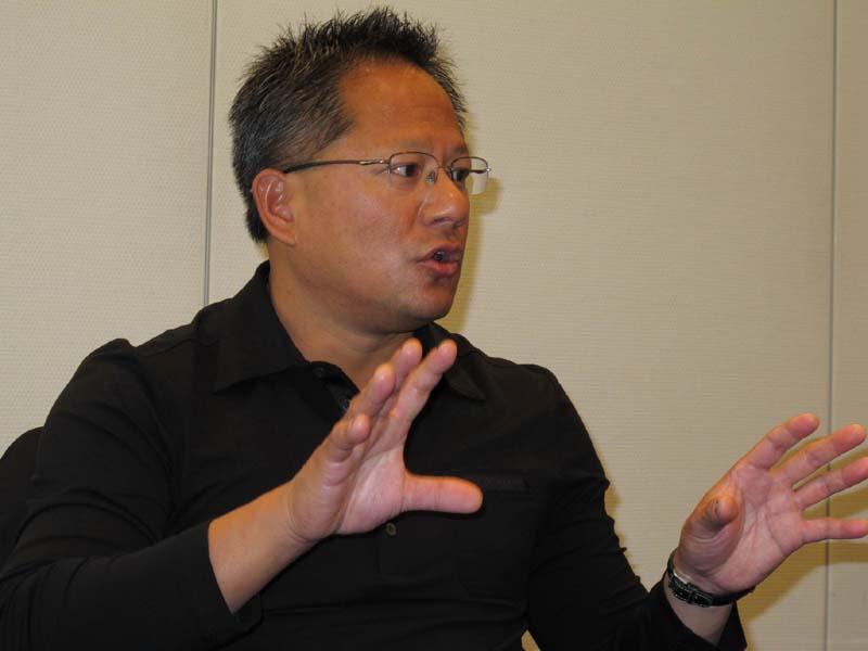 NVIDIA CEO Jen-Hsun Huang(ジェンセン・フアン)氏