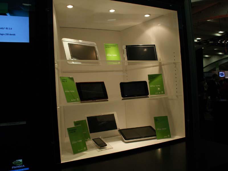 2010年3月のGDC(Game Developers Conference)で展示されたTegraベースのタブレット