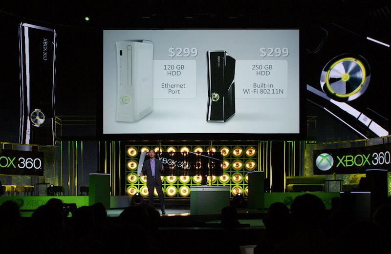 従来の65nm版Xbox 360と同じ価格で投入