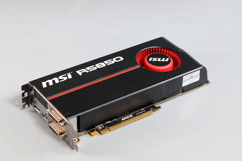 """【写真15】Radeon HD 5850を搭載する「<a href=""""http://www.msi-computer.co.jp/products/VGA/R5850-PM2D1G.html"""">R5850-PM2D1G</a>」"""