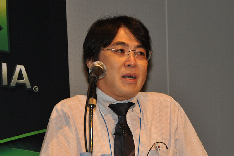 東京工業大学・学術国際情報センターの青木尊之氏