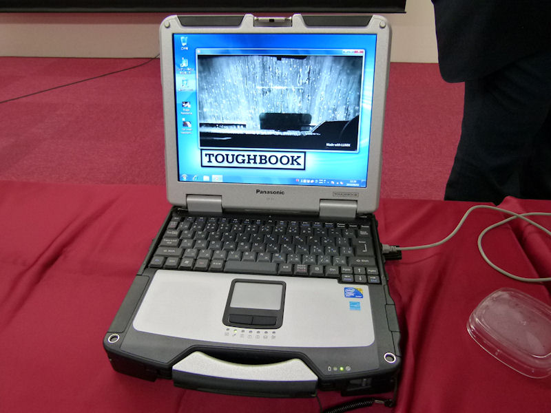 13.1型XGAを搭載したTOUGHBOOK「CF-31」