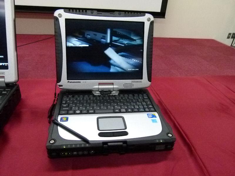 10.4型XGAコンバーチブルPCのTOUGHBOOK「CF-19」