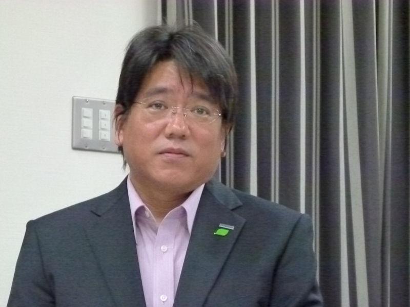 パナソニックAVCネットワークス社システム事業グループITプロダクツビジネスユニット市場開発グループの島田伊三男グループマネージャー