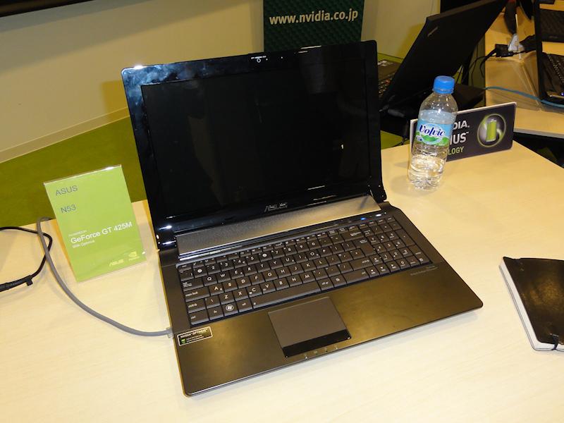 ASUSTeKのGeForce GT 425M搭載「N53」