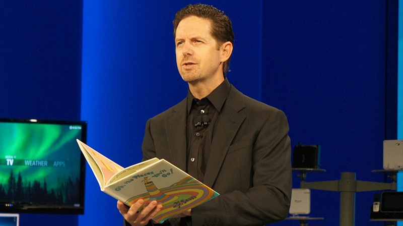 Intel 副社長兼組み込み&通信事業部 事業部長のダグラス・デイビス氏