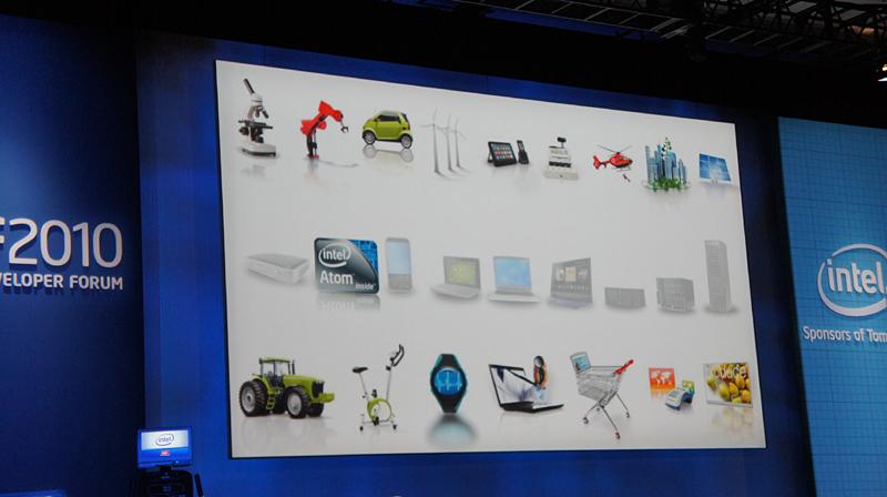 今回はAtomを中心に話を進めた。Atomは多数の組み込み製品に使われ始めている