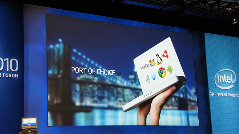 Windows、MeeGo、Android、Chrome、Mac OS……OSは何でも選択可能