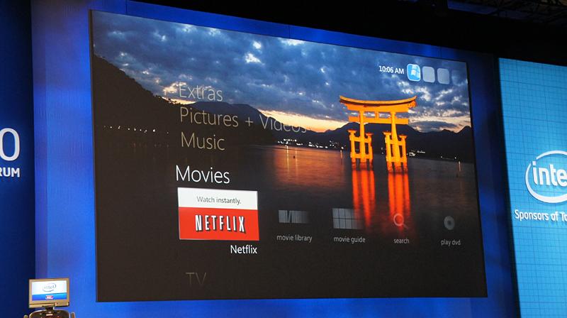 Windows Media Center用のWebアプリケーションがそのまま利用可能