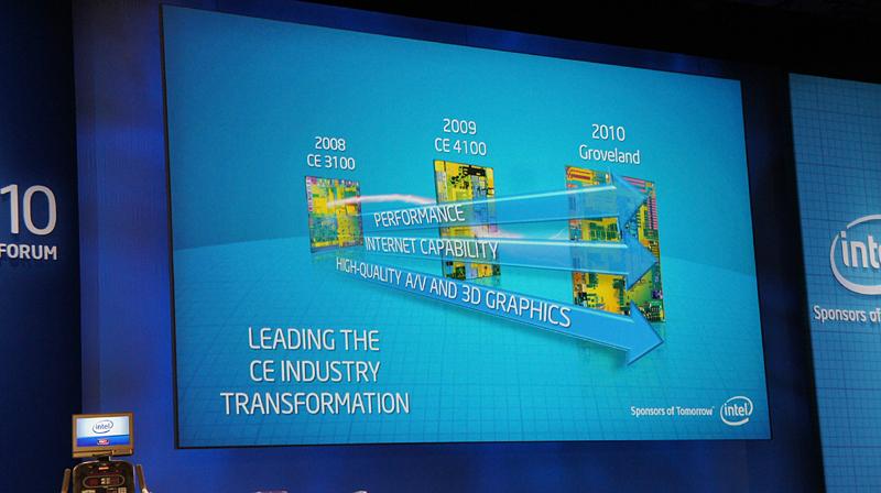 """Atom CE4100の後継として開発コードネーム""""Groveland""""ことAtom CE4200が発表された"""