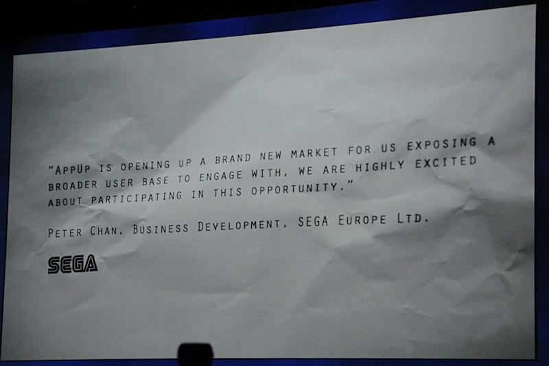 SEGAもパートナーに参加。同社が以前にリリースしたゲームなどをAtom上で動作するよう移植して提供される予定