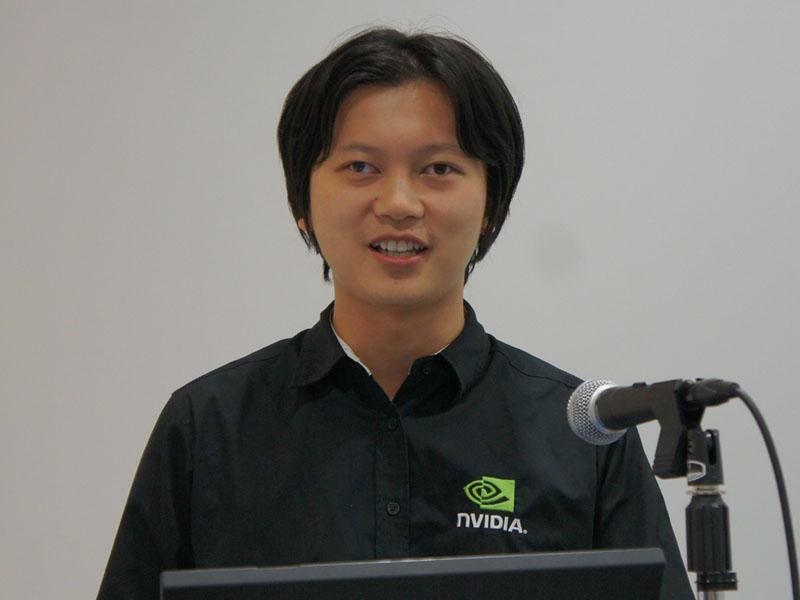 エヌヴィディア ジャパン テクニカルマーケティングエンジニア スティーブン・ザン氏