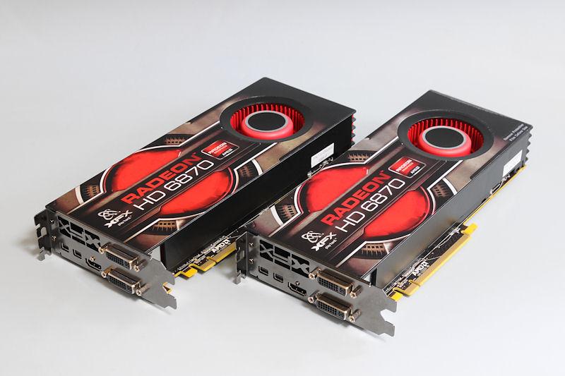"""【写真1】Radeon HD 6870を搭載する、XFXの「<A href=""""http://xfxforce.com/en-us/products/graphiccards/HD%206000series/6870.aspx"""">HD-687A-ZNFC</A>」"""