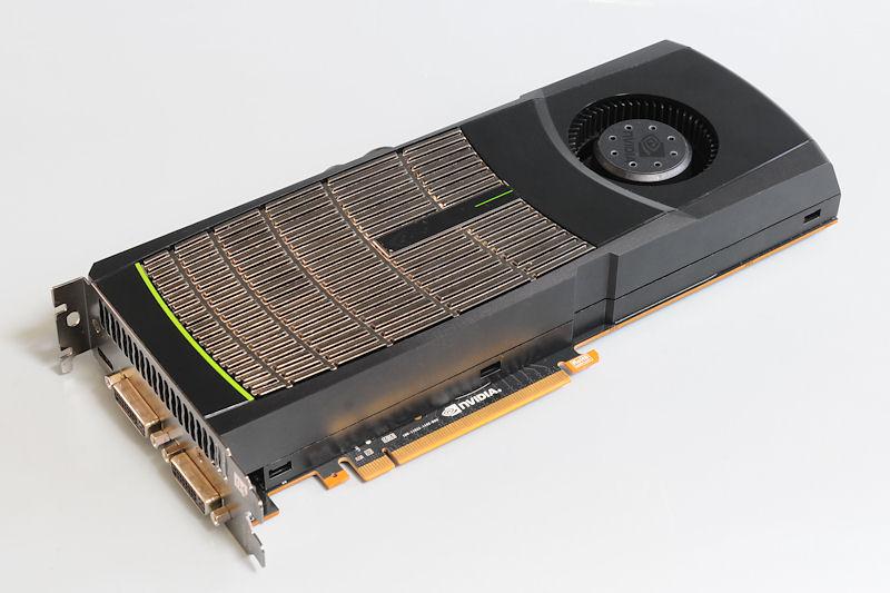 【写真7】GeForce GTX 480のリファレンスボード