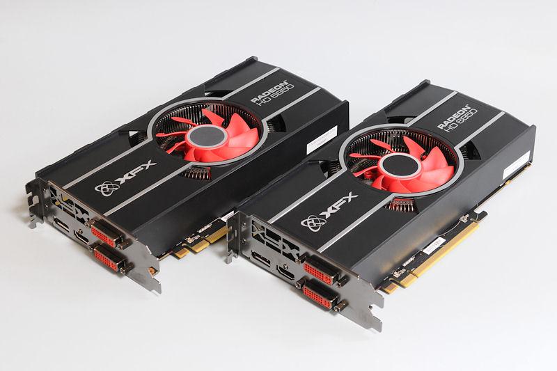 """【写真8】Radeon HD 6850を搭載する、XFXの「<a href=""""http://xfxforce.com/en-us/products/graphiccards/HD%206000series/6850.aspx"""">HD-685X-ZNFC</a>」"""
