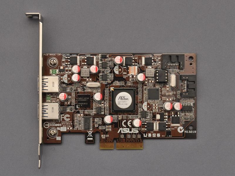 ASUSTeKのSATA 6Gbps/USB 3.0コンボカード「U3S6」をDP55KGに取り付け、U3S6にWD30EZRSを取り付けた場合でも、正常にブートドライブとして利用できた