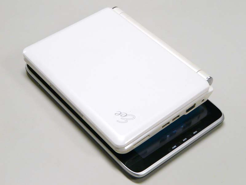 Eee PC 901-Xとの比較