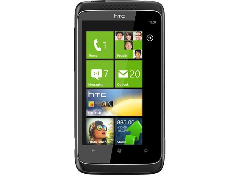 Windows Phone 7搭載の「HTC 7 Trophy」