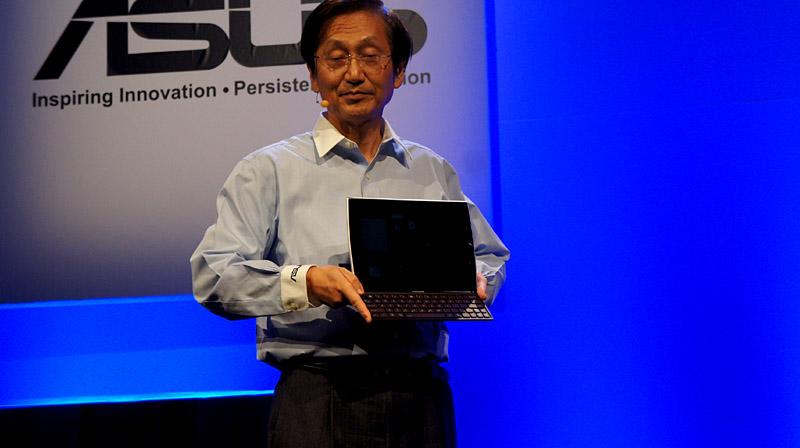 ASUS Eee Pad Slider、10.1型のマルチタッチ対応IPS液晶を搭載したタブレットデバイス