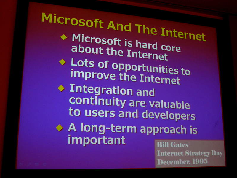 Internet Strategy Dayで発表されたMicrosoftの方針