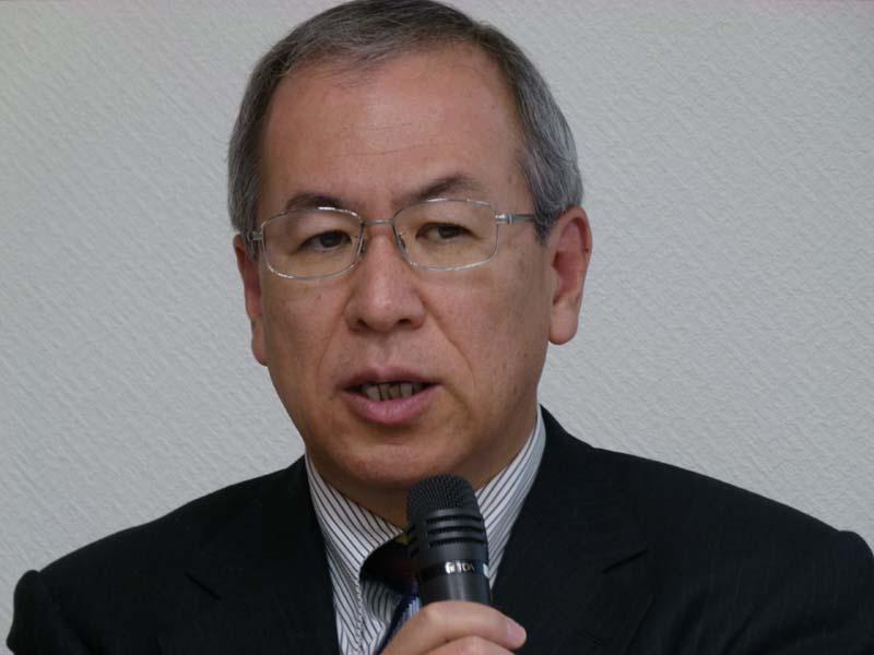 NECの執行役員兼キャリアネットワークBUネットワークプラットフォーム事業本部・手島俊一郎事業本部長