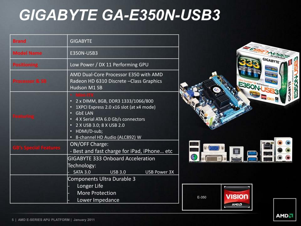 【図5】GA-E350N-USB3の主な特徴