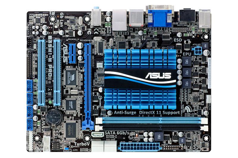 【写真9】ASUSTeKの「E33M1-M PRO」。Brazos製品としてmicroATX、PCIスロットの装備は貴重な存在になりそうだ(写真提供:ASUSTeK)